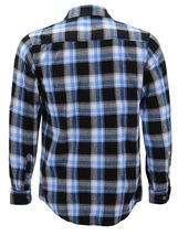 Men's Premium Cotton Button Up Long Sleeve Plaid Comfortable Flannel Shirt image 15