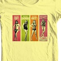 James Bond girls T shirt 007 Thunderball 60s retro movie film cotton graphic tee image 1
