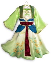 New Disney Store Princess Mulan Costume for Kids - Sz 3 5/6 7/8 9/10 - £45.97 GBP