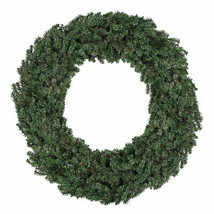 Northlight 6' Commercial Size Canadian Pine Artificial Christmas Wreath ... - $201.70