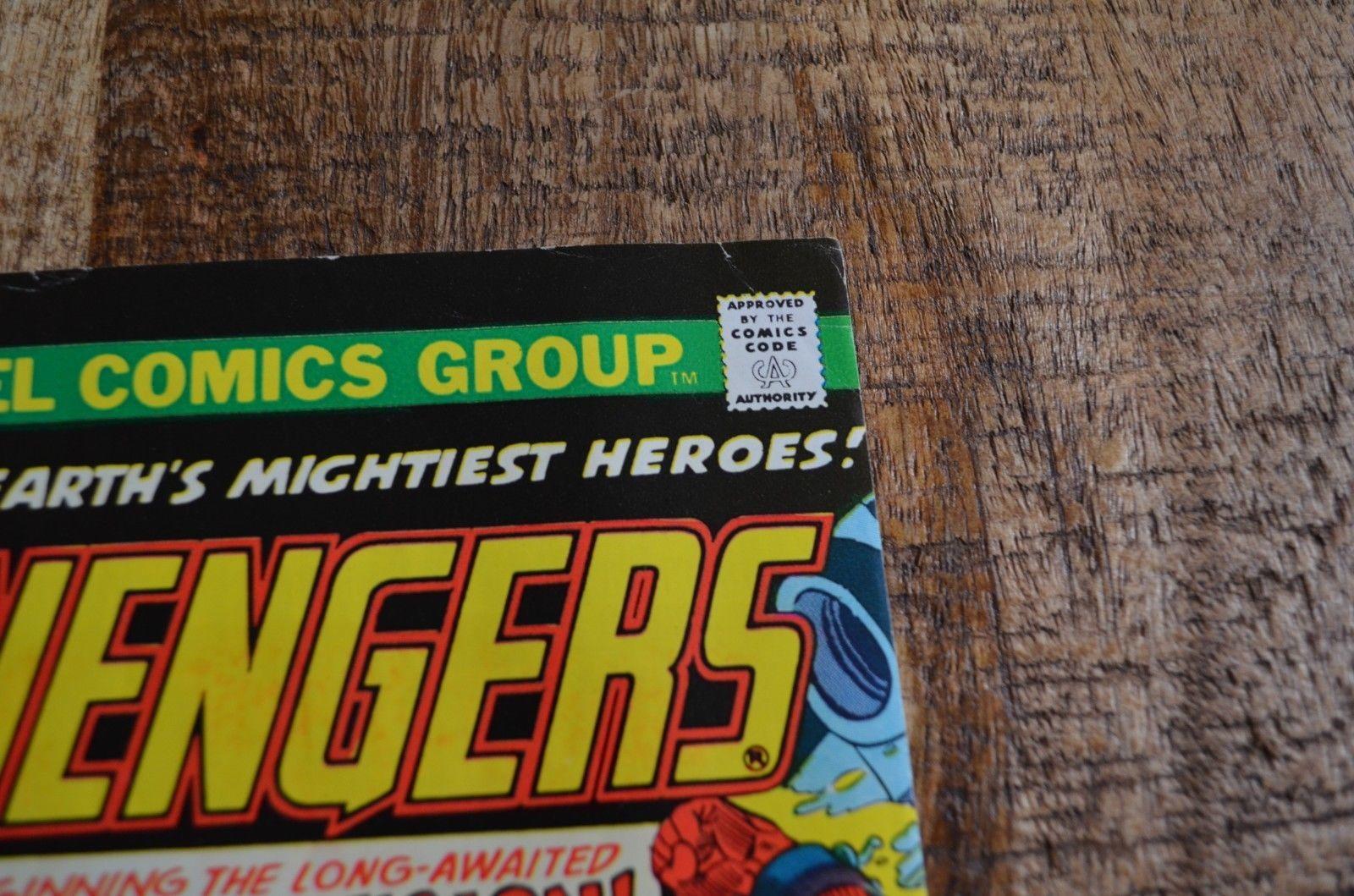Avengers #133 134 (Marvel 1975) Vision Origin Bronze Age VF