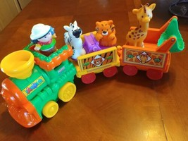 Fisher Price Little People Lot Train animated Circus Animals  - $18.80