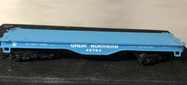 Vintage HO Scale Bachmann Great Northern 42764 Flat Car - $14.03