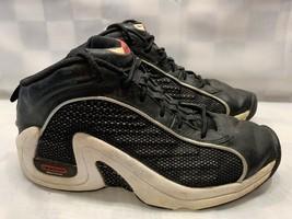 REEBOK DMX Hi Top Men's Shoes Size 9 Black White 4-57954 - $50.48