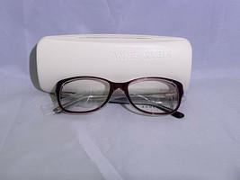 Anne Klein Burgundy Crystal AK5005 604 Rx Eyeglass Frames Brand New $179 Msrp - $29.02