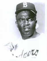 Jackie Robinson 8X10 Photo Brooklyn Dodgers Baseball Picture Close Up - $3.95