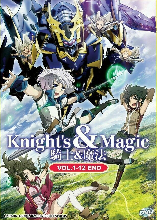 Knight's & Magic(1-12End) DVD ANIME ENGLISH DUBBED Ship From USA