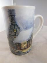 "Gorgeous Thomas Kinkade Christmas Winter Scene  Mug 5"" x 3"" Old Porterfield Gift - $8.90"