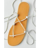 NEW Urban Outfitters UO Marley Suede Gladiator Sandals in White sz 8 - $23.76