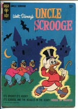 UNCLE SCROOGE #63 1966-GOLD KEY-WALT DISNEY-CARL BARKS ART-vg - $52.96