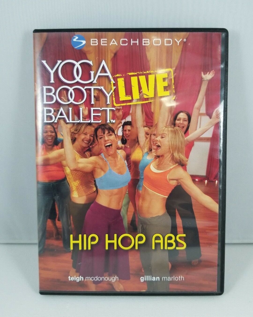 Yoga Booty Ballet Live Hip Hop Abs DVD - Fast Free Shipping!