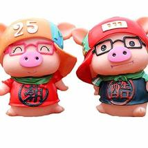 PANDA SUPERSTORE Creative Cute Doll Piggy Bank Gift Rrnaments Lovely Coin Box Un