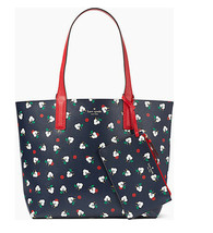 NWT Kate Spade Mya tote Arch Place Breezy Floral Ditsy Reversible Tote w Pouch - $123.75
