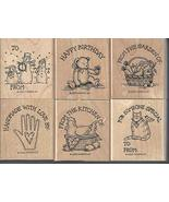 Stampin' Up! Gift Tags Set of 6 Retired 2000 - $49.99