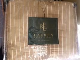 RALPH LAUREN 52ND STREET STRIPE KING BEDSKIRT New $175.00 - $55.74