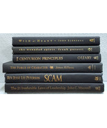 Black Decorator Books with Gold Titles and Lettering - Set of 6 Books Ha... - $29.95