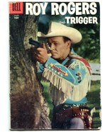 Roy Rogers and Trigger #104 1956- Dell Western VG- - $45.40