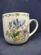 Thomson Floral Garden Mug Blue Irus Flowers - $9.95