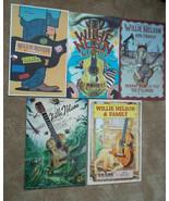 Willie Nelson Fillmore Poster Set Of 5 2007 - $199.00