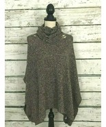 Maurices Women's Sweater Knit Cowl Neck Cape Shawl Size 3 Plus (24/26) - £15.86 GBP
