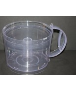 GE 4 Speed Food Processor Replacement Part Work Bowl Model 106622F - $17.99