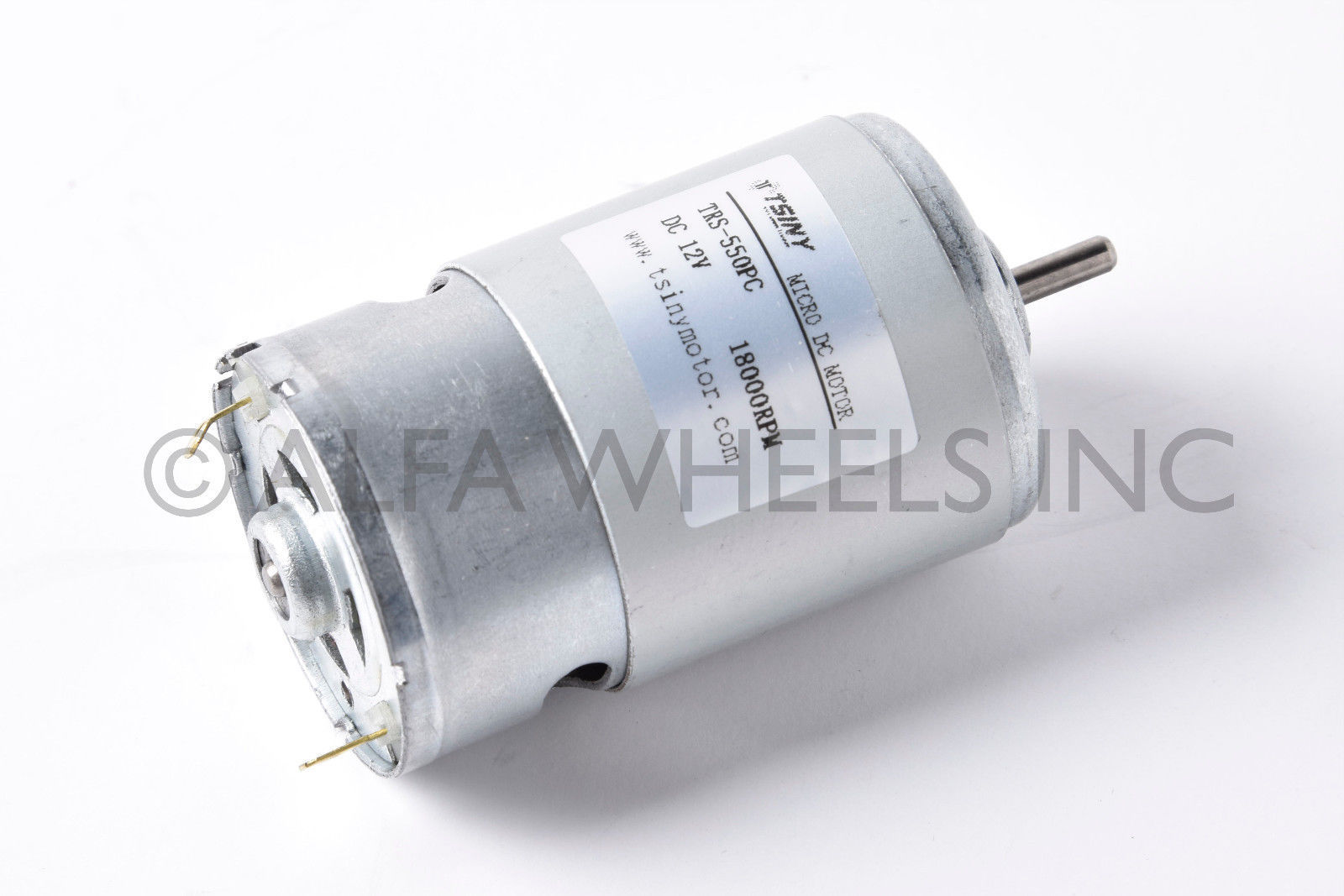 Electric pmdc 12 v dc 120 w motor 19000 rpm high speed for 120 rpm ac motor