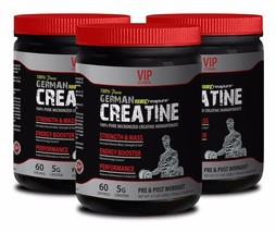 Muscletech creatine GERMAN CREATINE STRENGTH & MASS PURE 300g Makes musc... - $36.42