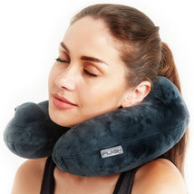 iFlash Hypoallergenic U-Shape Inflatable Washable Travel Neck Pillow - D... - $14.99