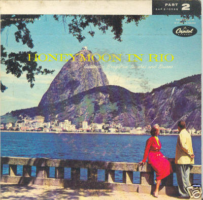 HONEYMOON IN RIO 2 45 rpm w/sleeves Authentic Sambas