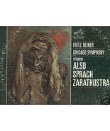 RICHARD STRAUSS ALSO SPRACH ZARATHUSTRA LP Fritz Reiner - $3.00