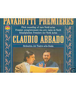 PAVAROTTI PREMIERES LP Claudio Abbado - $3.00