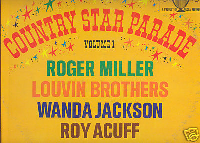 COUNTRY STAR PARADE VOL 1 LP Red Sovine Roger Miller ++