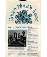 "QUEEN ANNE'S LACE 7"" EP Hammered Dulcimer & Accordion - $2.00"