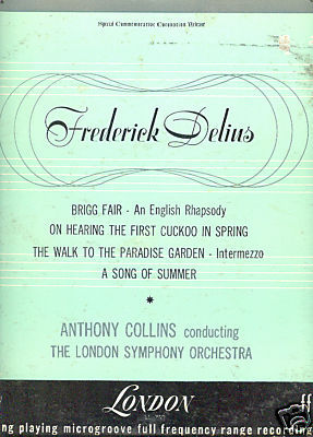 DELIUS LP Brigg Fair, On Hearing The First Cuckoo more!