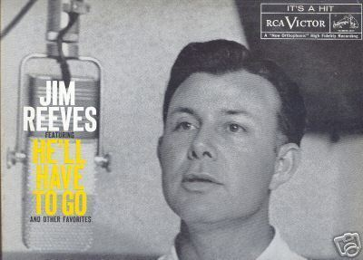 JIM REEVES LP He'll Have To Go (and Other Favorites)