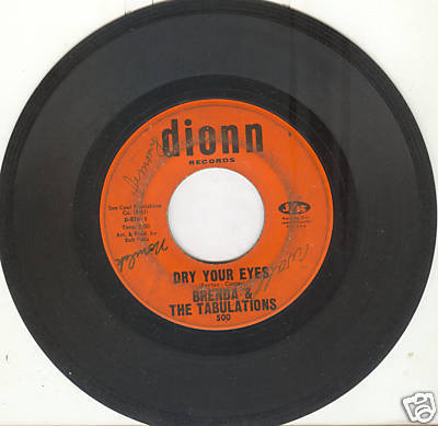 BRENDA & THE TABULATIONS 45 rpm Dry Your Eyes