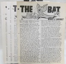The Bat Jr. 1953-1955 misc. Issues - $34.30