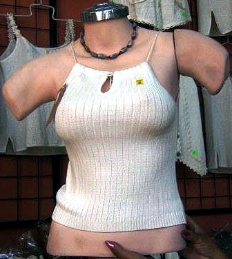 White Top, shirt made of ecological pima cotton