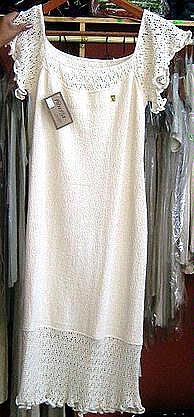 White long dress from