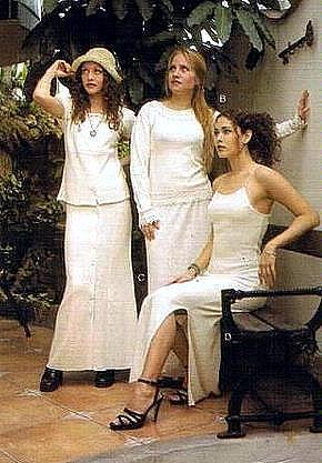 White long dress,ecological pima cotton