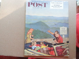 Saturday Evening Post Magazine July 18 1953 Complete - $12.99