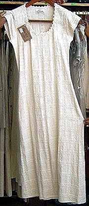 White dress from