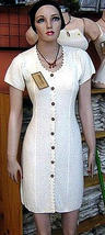White long dress, pure ekological Pima Cotton  - $64.00