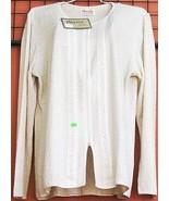 White longsleeve blouse,ecological pima cotton - $45.00