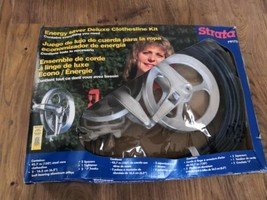 Strata 79175 Energy Saver Deluxe Clothesline Kit -  Contains everything ... - $48.98