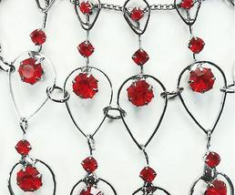 Red crystal necklace   earrings set 2 thumb200