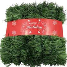 ATNKE 1600CM Décoration de Noël Herbe Verte Guirlande Artificielles Fait... - $30.91