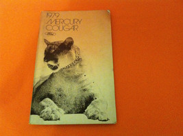 1979 Ford Mercury Cougar Owner's Manual - $9.99