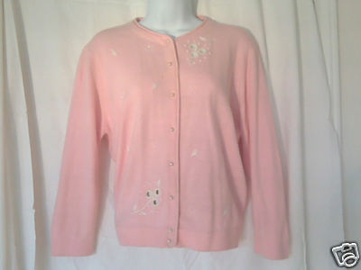 It's Pure Gould! Soft, Pink & Pearls Ladies Sweate