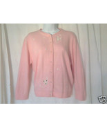 It's Pure Gould! Soft, Pink & Pearls Ladies Sweate - $20.00
